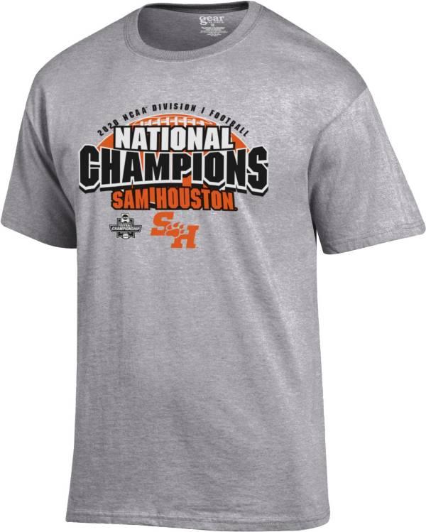 Gear For Sports Men's Sam Houston Bearkats 2020 Division 1 Football National Champions Locker Room T-Shirt product image