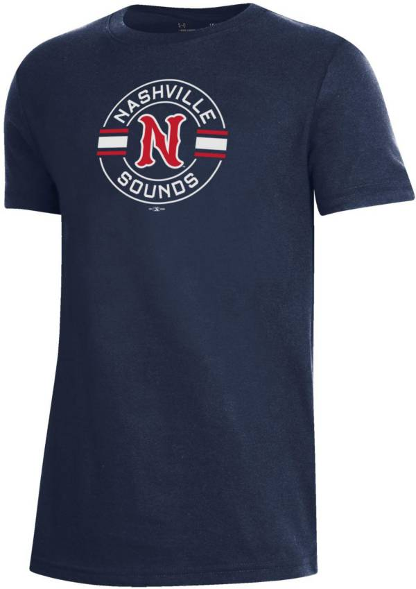 Under Armour Youth Nashville Sounds Navy T-Shirt product image