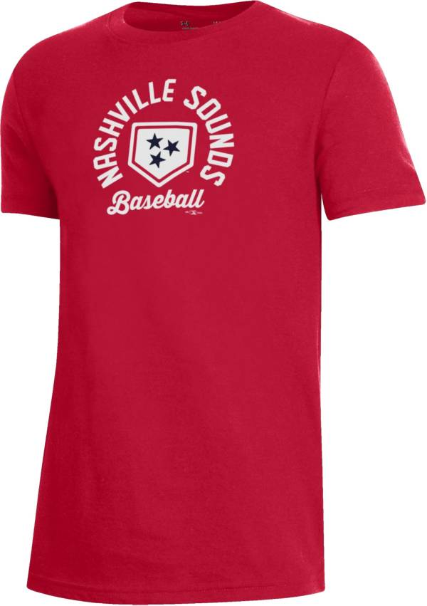 Under Armour Youth Nashville Sounds Red T-Shirt product image