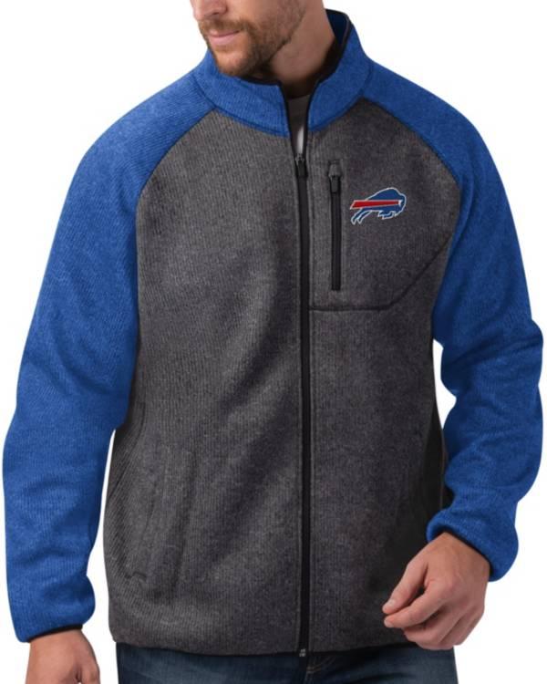 G-III Men's Buffalo Bills Switchback Full-Zip Charcoal Jacket product image
