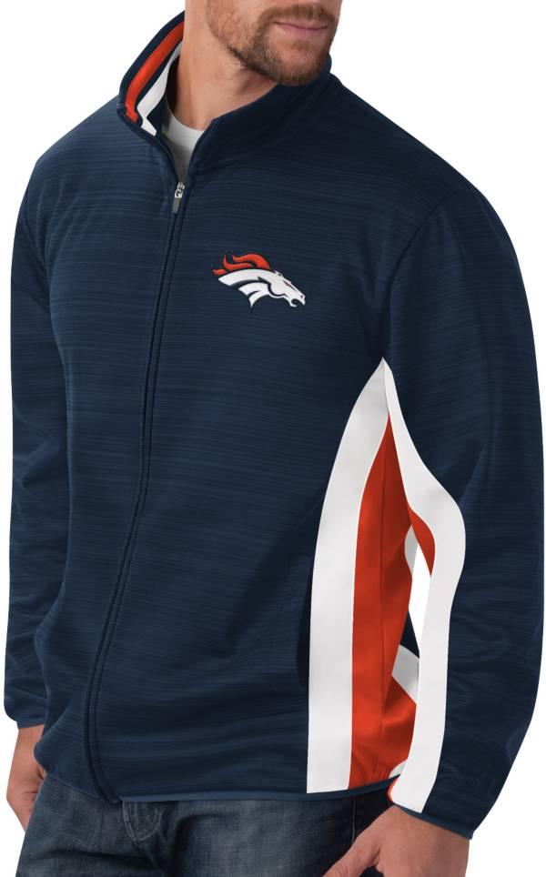 G-III Men's Denver Broncos Switchback Full-Zip Charcoal Jacket product image