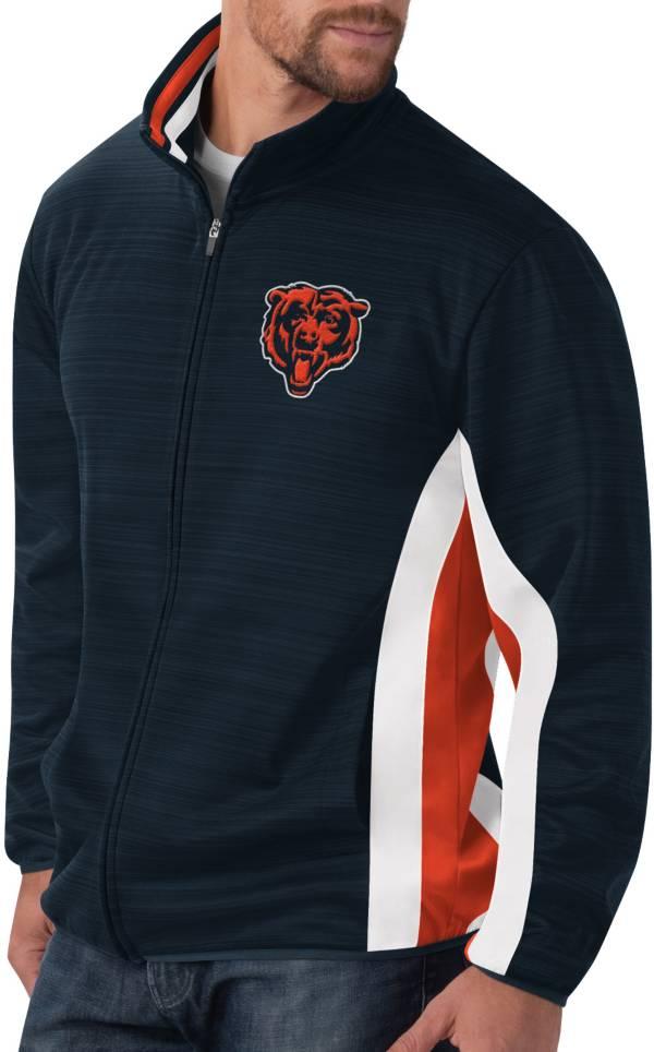 G-III Men's Chicago Bears Power Forward Navy Track Jacket product image