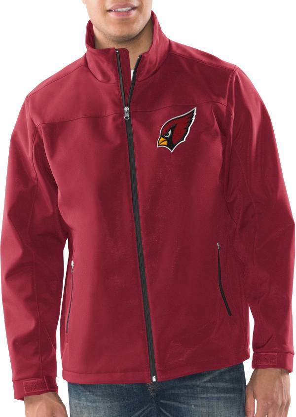 G-III Men's Arizona Cardinals Pregame Red Full-Zip Jacket product image
