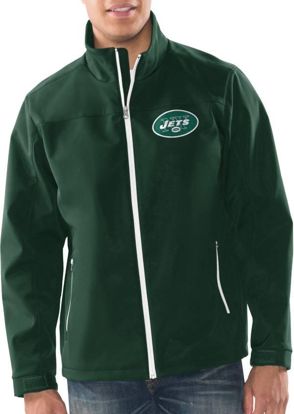 G-III Men's New York Jets Pregame Green Full-Zip Jacket product image