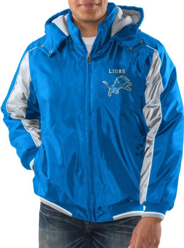 G-III Men's Detroit Lions Home Team Blue Parka product image