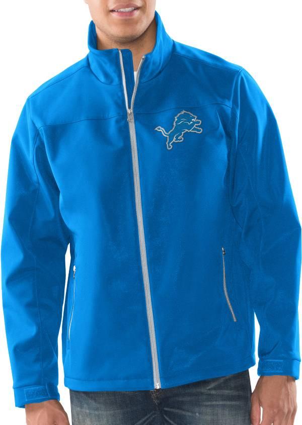 G-III Men's Detroit Lions Pregame Blue Full-Zip Jacket product image