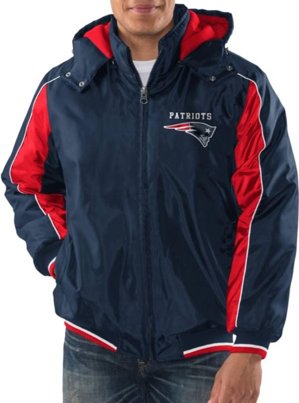 G-III Men's New England Patriots Home Team Navy Parka product image