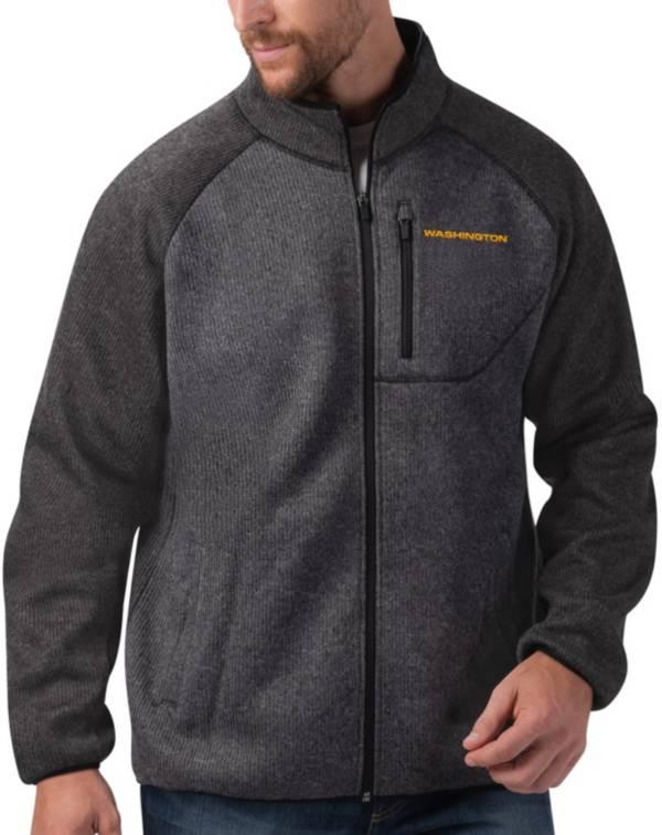 G-III Men's Washington Football Team Switchback Full-Zip Charcoal Jacket product image