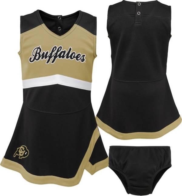 Gen2 Girls' Colorado Buffaloes Black Cheer Captain 2-Piece Jumper Dress product image