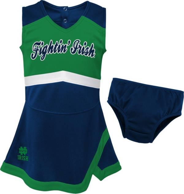 Gen2 Girls' Notre Dame Fighting Irish Navy Cheer Captain 2-Piece Jumper Dress product image