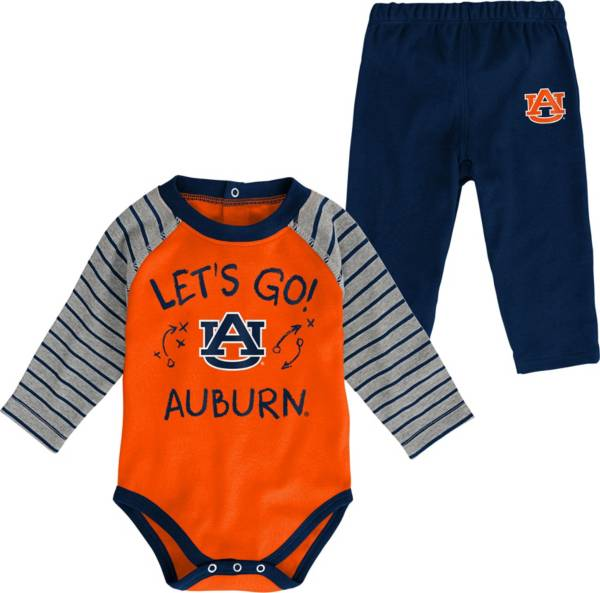 Gen2 Toddler Auburn Tigers Blue Touchdown 2-Piece Creeper Set product image