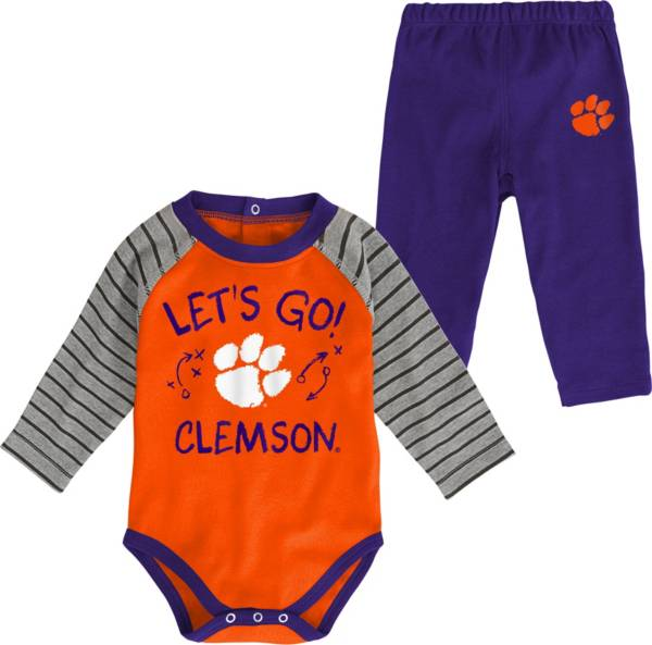 Gen2 Toddler Clemson Tigers Orange Touchdown 2-Piece Creeper Set product image