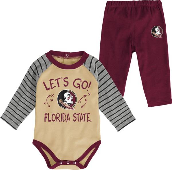 Gen2 Toddler Florida State Seminoles Garnet Touchdown 2-Piece Creeper Set product image