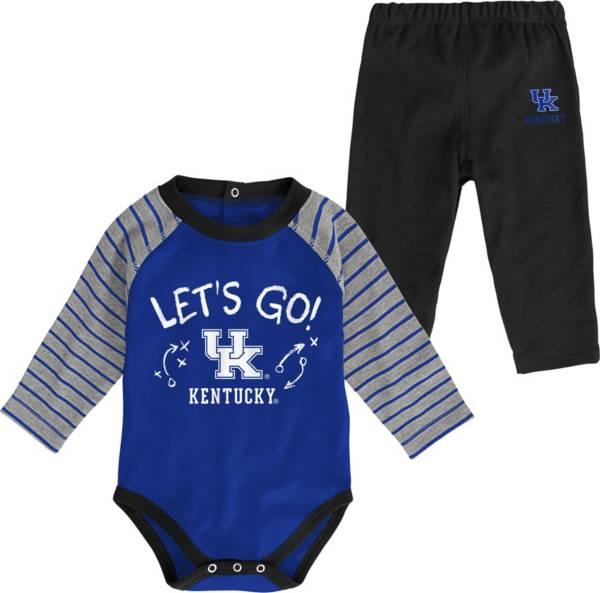 Gen2 Toddler Kentucky Wildcats Blue Touchdown 2-Piece Creeper Set product image