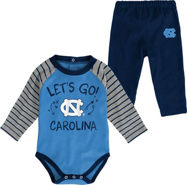 Gen2 Toddler North Carolina Tar Heels Carolina Blue Touchdown 2-Piece Creeper Set product image