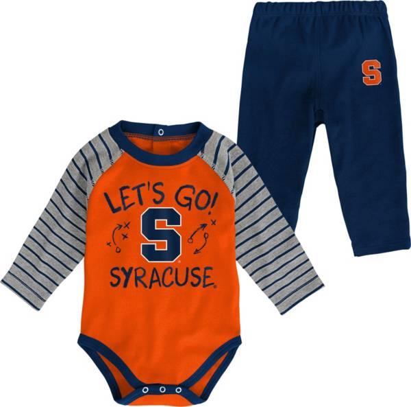 Gen2 Toddler Syracuse Orange Blue Touchdown 2-Piece Creeper Set product image