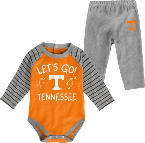 Gen2 Toddler Tennessee Volunteers Tennessee Orange Touchdown 2-Piece Creeper Set product image