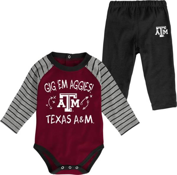 Gen2 Toddler Texas A&M Aggies Maroon Touchdown 2-Piece Creeper Set product image