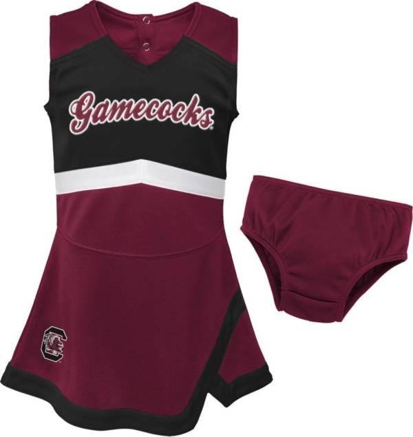 Gen2 Girls' South Carolina Gamecocks Garnet Cheer Captain 2-Piece Jumper Dress product image