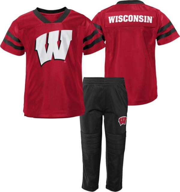 Gen2 Toddler Wisconsin Badgers Red Training Camp 2-Piece Set product image