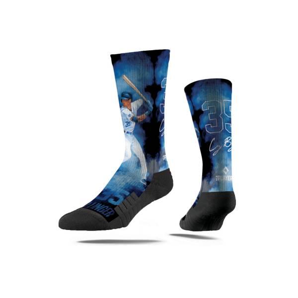Strideline Los Angeles Dodgers Cody Bellinger Fog Crew Socks product image