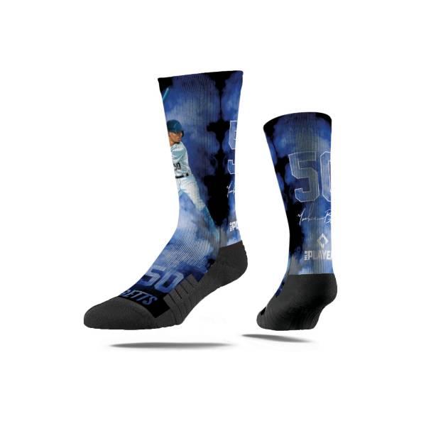 Strideline Los Angeles Dodgers Mookie Betts Fog Crew Socks product image