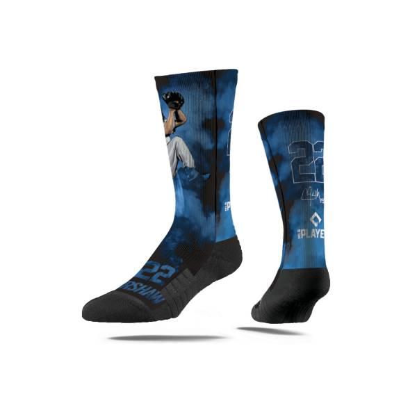 Strideline Los Angeles Dodgers Clayton Kershaw Fog Crew Socks product image
