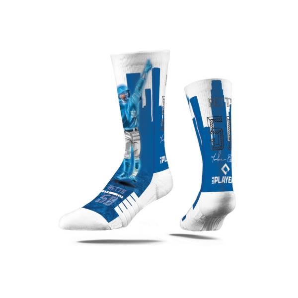 Strideline Los Angeles Dodgers Mookie Betts Hometown Hero Crew Socks product image