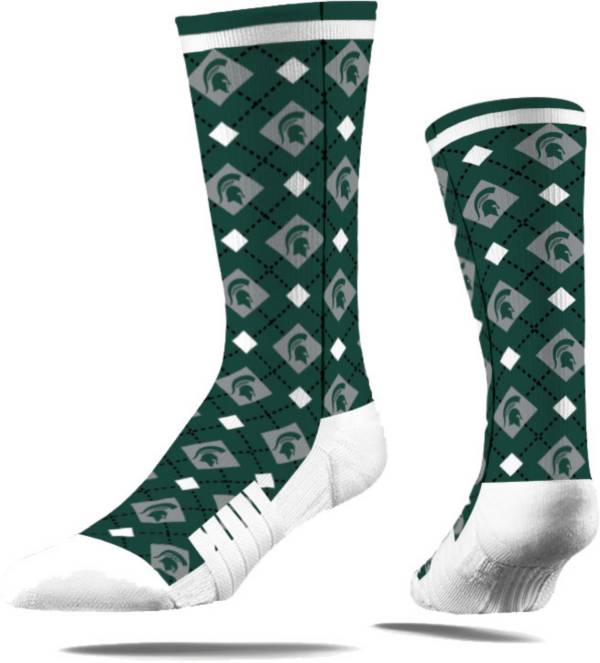 Strideline Michigan State Spartans Repeat Crew Socks product image