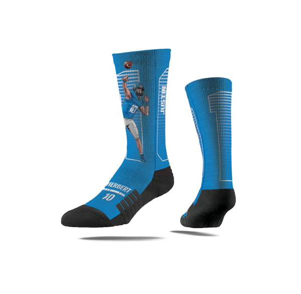 Strideline Los Angeles Chargers Justin Herbert Action Socks product image