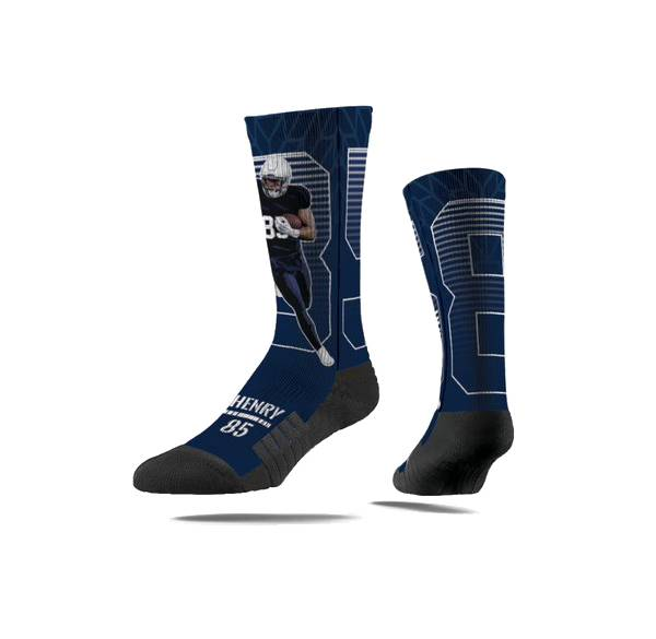 Strideline New England Patriots Hunter Henry Action Socks product image