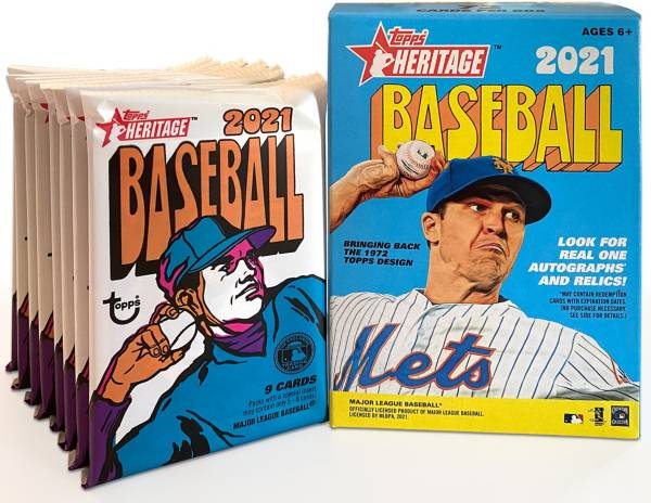 Topps 2021 Heritage Value Box product image