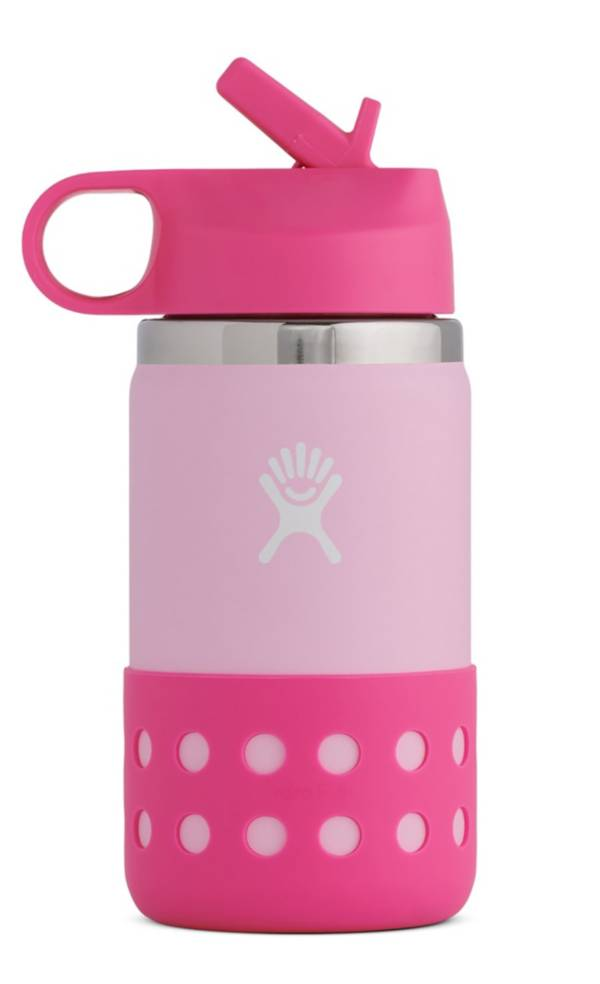 Hydro Flask 12 oz. Kids' Wide Mouth Bottle with Straw Lid and Boot product image
