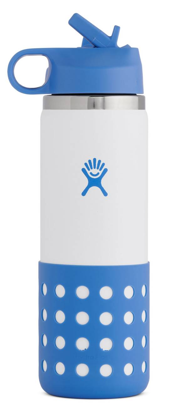 Hydro Flask 20 oz. Kids' Wide Mouth Bottle with Straw Lid and Boot product image