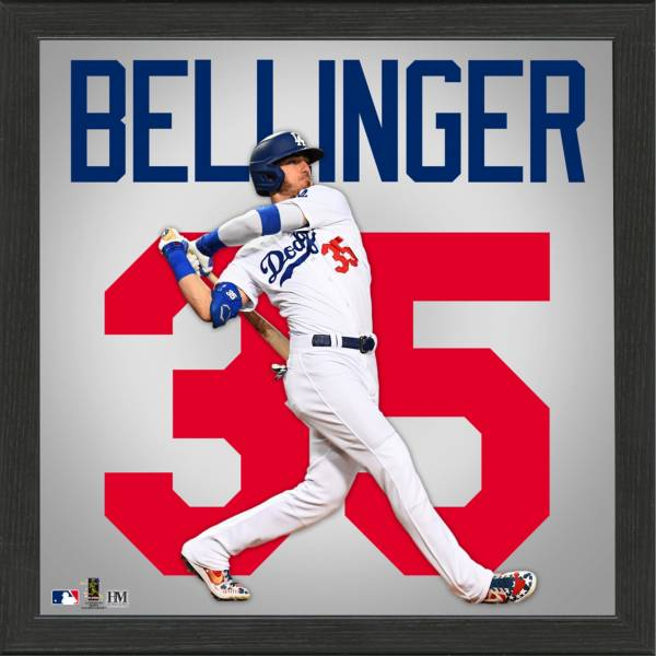 Highland Mint Los Angeles Dodgers Cody Bellinger Impact Jersey Framed Photo product image