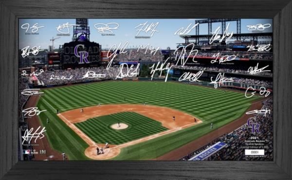 Highland Mint Colorado Rockies 2021 Signature Field Photo Frame product image
