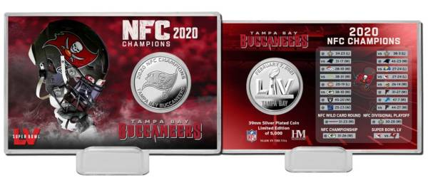 Highland Mint Tampa Bay Buccaneers NFC Conference Champions Coin Card product image