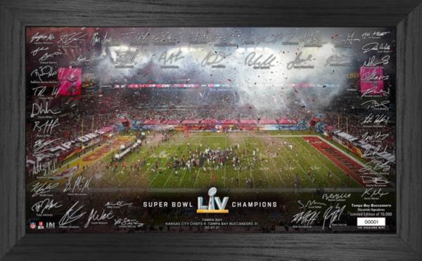 Highland Mint Super Bowl LV Champions Tampa Bay Buccaneers Team Photo Frame product image