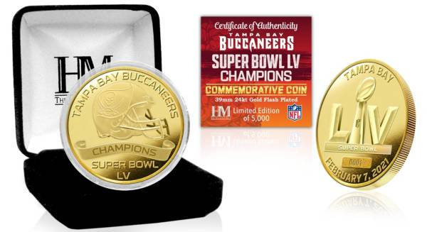 Highland Mint Super Bowl LV Champions Tampa Bay Buccaneers Coin product image