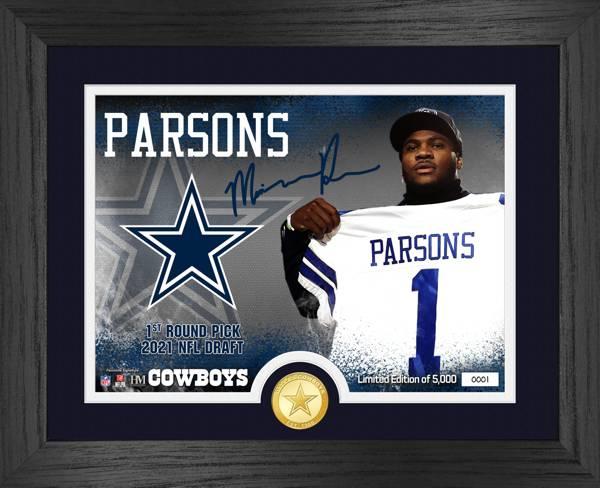 Highland Mint Dallas Cowboys Micah Parsons Bronze Coin Photo product image