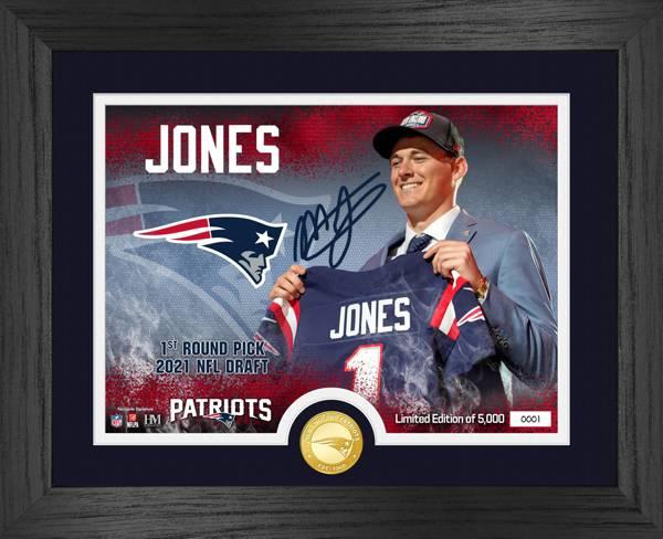 Highland Mint New England Patriots Mac Jones Bronze Coin Photo product image