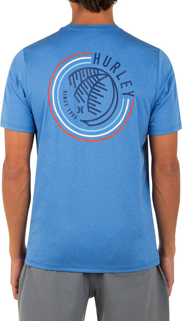 Hurley Men's Palmed Out Hybrid Short Sleeve Graphic T-Shirt product image