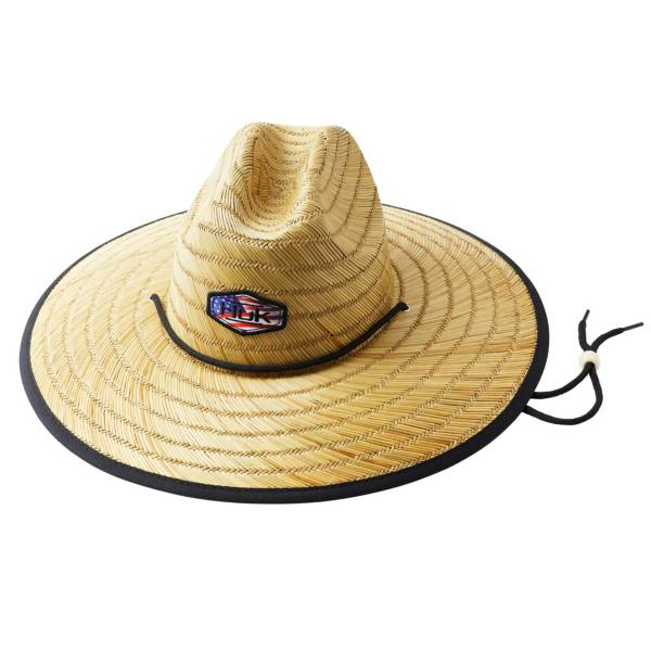 HUK Adults Camo Patch Straw Hat product image