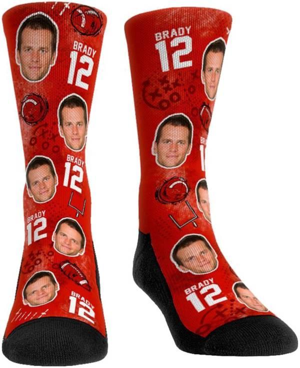 Rock Em Socks Youth Tampa Bay Buccaneers Tom Brady Face Crew Socks product image