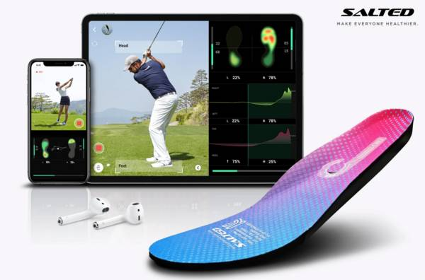 Salted Smart Golf Insoles product image
