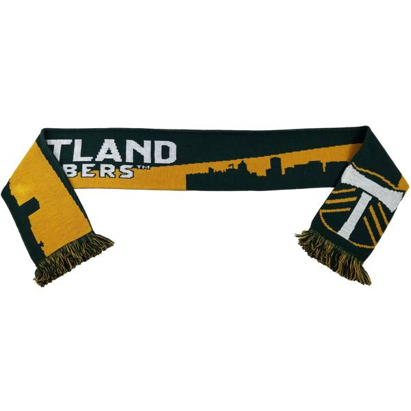 Ruffneck Scarves Portland Timbers Sky Knit Green Scarf product image