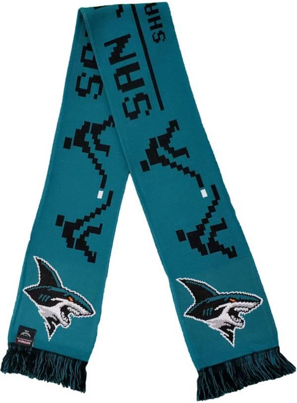 Ruffneck Scarves San Jose Sharks 8-Bit Scarf product image