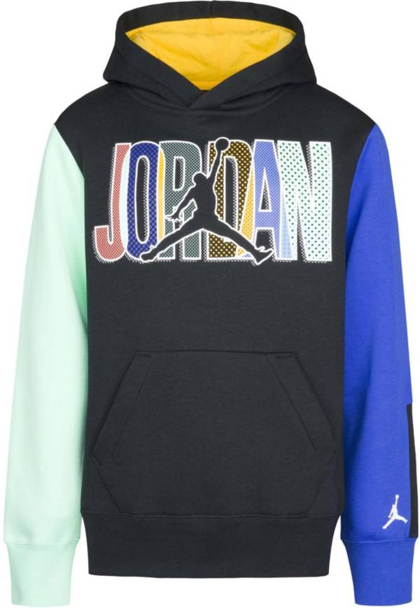 Jordan Boys' Mismatch Day Pullover Hoodie product image