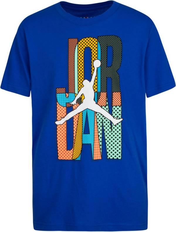 Jordan Boys' Mismatched Stack Graphic T-Shirt product image