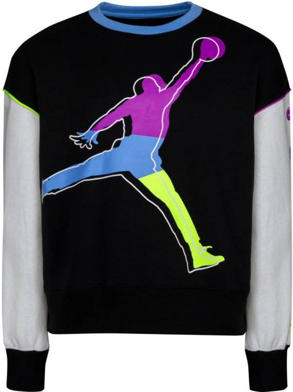 Jordan Girls' Color Outside The Lines Crewneck Sweatshirt product image
